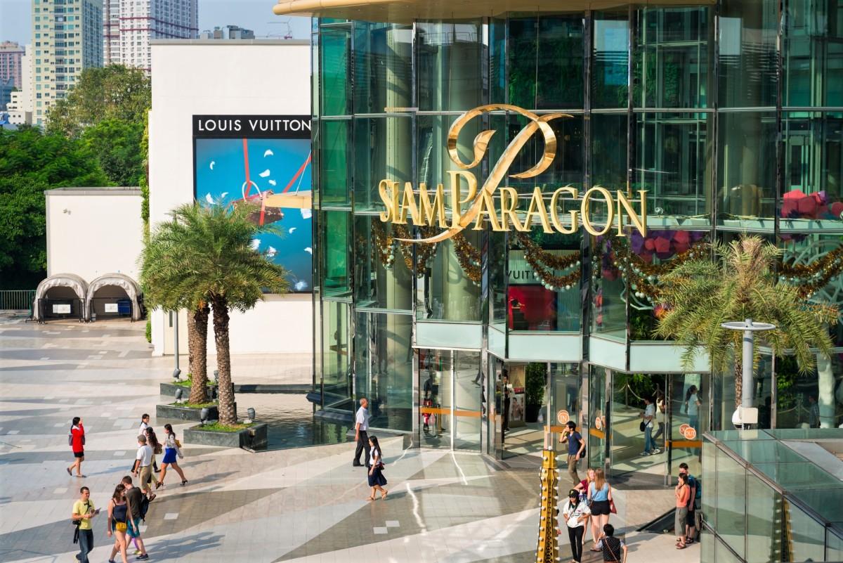 Siam Paragon shopping mall in Bangkok
